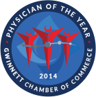Physician of the year logo